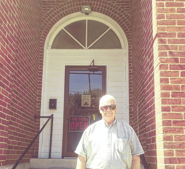 Retired architect Charles Reynolds has nominated a building in New Madison for inclusion in the National Register of Historic Places.
