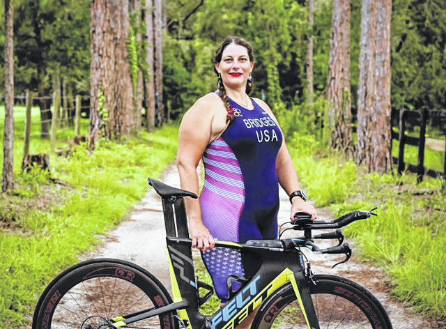 Dianna Bridges, a 1996 Tri-Village graduate, competed in the world triathlon competition in Denmark, July 5 to 14, finishing in the top 20 of her age division.