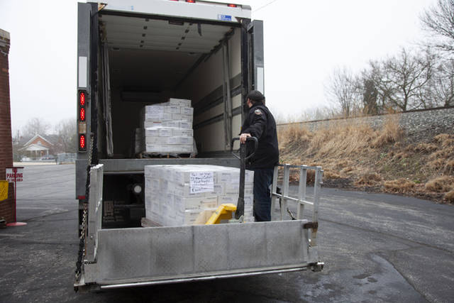 Cooper Farms recently donated more than 13,600 pounds of turkey deli meat to food banks in honor of National Turkey Lovers' Month.