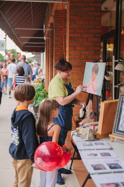 The Artisan Stroll brings dozens of artists to downtown Greenville each year to display their talents and sell their work. Main Street Greenville also announced the incorporation of several art contests to this year's event.