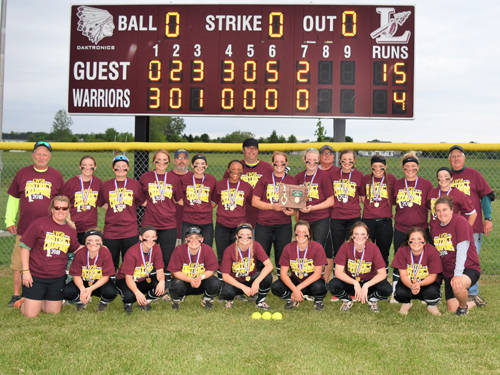 The Greenville softball team won an Ohio High School Athletic Association district championship in 2018.