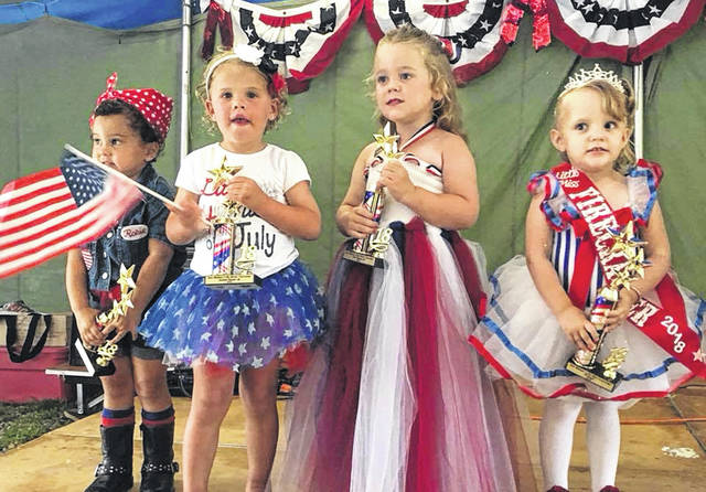 Events such as the Three on Three Tournament and Little Mr. and Miss Firecracker Contest had to move indoors due to heavy rain.