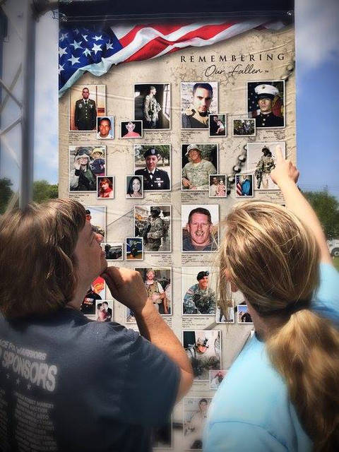 "The Mercer County Fair will host the exhibit, ""Remembering Our Fallen"" to remind Americans of the ultimate sacrifice made by those who died from wounds suffered in Iraq and Afghanistan."