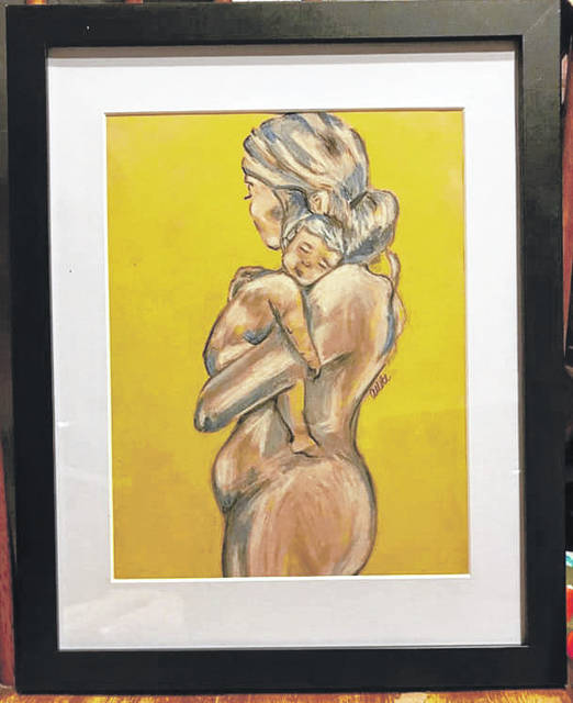 Three artworks submitted to the Darke County Fair Fine Arts competition by a local artist were hung but then removed before judging. No reason was provided for their removal.