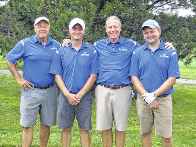 First place team: Edison State Community College - Bruce McKenzie, Chris Spradlin, Mike Curtis, Chad Beanblossom