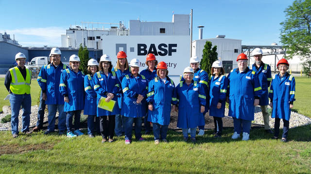 Educators from Darke County schools toured BASF Corp., Ramco Electric Motors and Fram Group this summer.