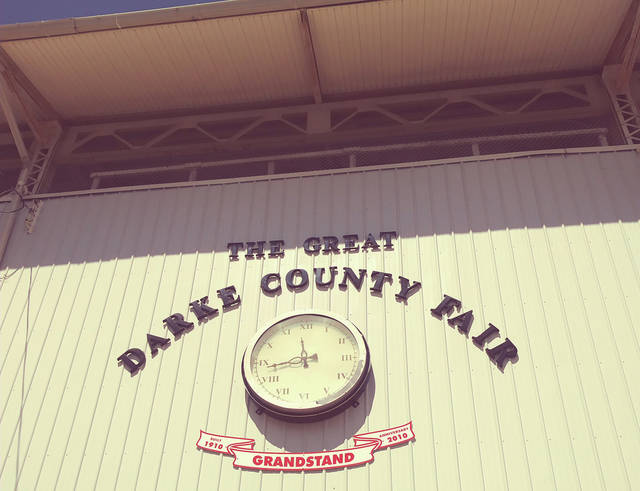The Darke County Fair Board held a special meeting Tuesday night to consider adopting a new constitution.