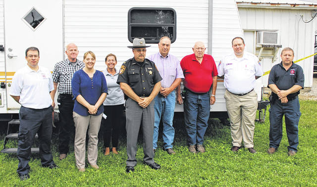 The Darke County Fair's Safety Committee gathered Thursday in preparation for the fair's Friday opening. Visitors are urged to practice caution while attending the event.