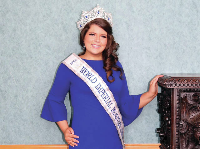 Madison Kinninger, 15, is the granddaughter of Greenville residents Richard and Linda Kinninger. She's been participating in beauty pageants, as well as a host of volunteer activities, since she was 8 years old.