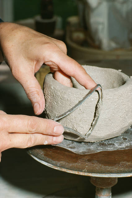 The Troy-Hayner Cultural Center offers two pottery classes, one that begins in September and one that begins in October.
