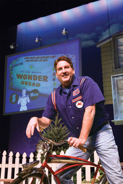 "Darke County Center for the Arts will present ""The Wonder Bread Years"" starring former Seinfeld writer Pat Hazell at Henry St. Clair Memorial Hall in Greenville at 8 p.m. Oct. 13."
