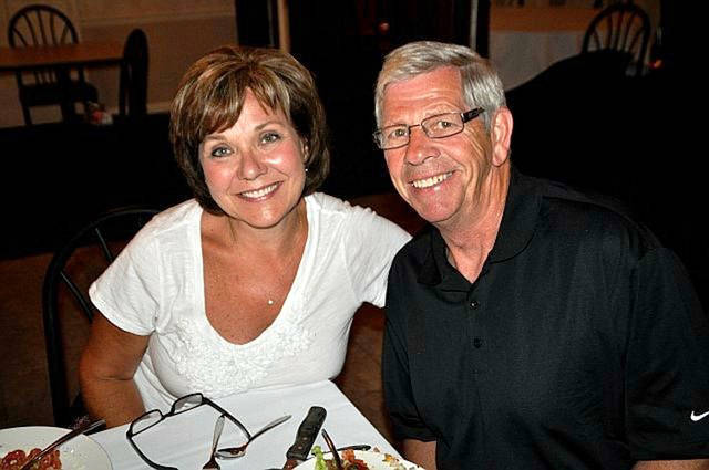 The Steve Knapke Memorial Blood Drive will honor the memory of Steve Knapke (right), who was killed in a crash caused by an impaired driver that also seriously injured his wife, Lois (left).