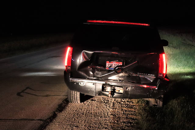 Deputies from the Darke County Sheriff's Department said a juvenile female driver failed to yield at a stop sign, resulting in a rear end collision between two vehicles.