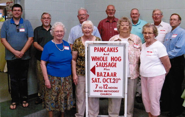 Ansonia United Methodist Church will host its annual pancake and whole hog breakfast and bazaar from 7 a.m. to noon Oct. 20 in the Gathering Place.