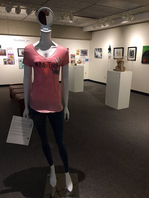 The Myer-Vaccaro Gallery at Edison State Community College in Piqua features Art of Recovery through Oct. 24.