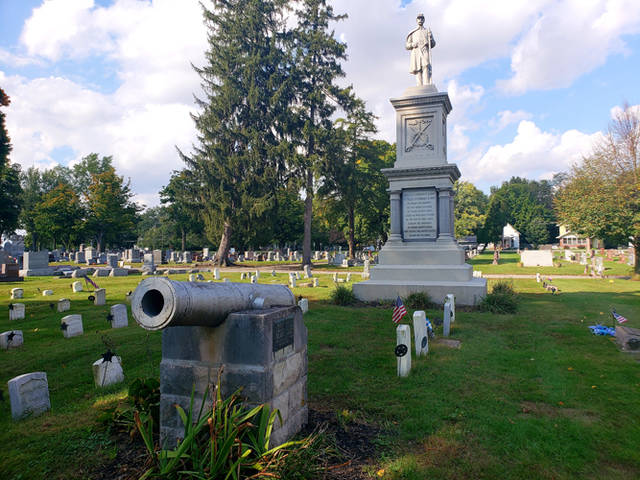 Darke County Center for the Arts announced a new Ghost Walk in Greenville Union Cemetery at 4:30 p.m. Oct. 28 and again on Halloween night, 6 p.m. Oct. 31, in addition to the annual Ghost Walk in downtown Greenville on Oct. 26, 27 and 28. Both events are fundraisers for DCCA information, and tickets are available at www.darkecountyarts.org.