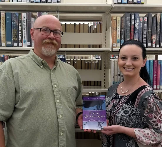 Erik Martin, whose pen name is E.Scott Martin, will discuss the process he went through in order to get his book written and published at the Greenville Public Library's Author Sign & Share.