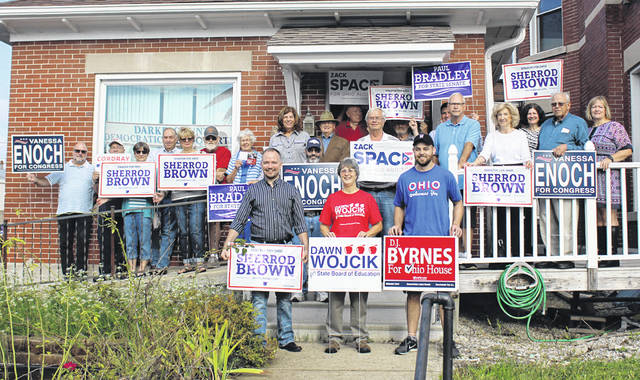 The Darke County Democratic Party opened its election headquarters Saturday. The headquarters, located at 114 E. Fourth St. in Greenville, will be open 3 to 6 p.m. Mondays through Fridays and 10 a.m. to 2 p.m. Saturdays for those seeking yard signs and campaign literature.