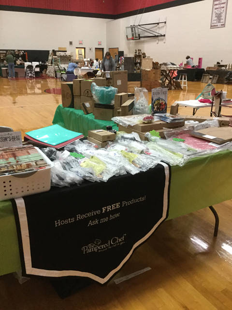 Individuals can spend the day shopping and also help support the eighth grade students going to Washington, D.C. in the fall of 2019 at the Mississinawa Valley Fall Craft Show.