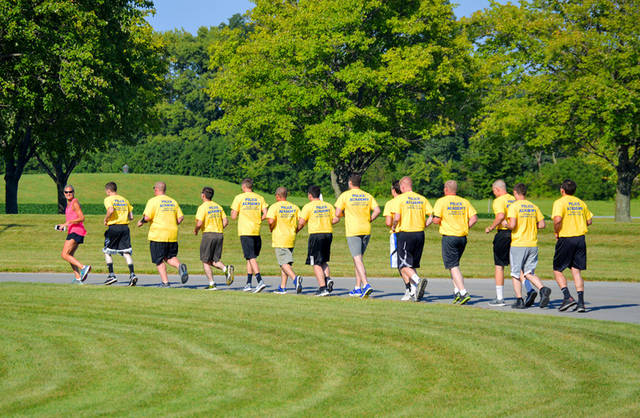 Edison State Police Academy cadets train during the 22-week Ohio Peace Officer Training Academy to prepare for a career in law enforcement.