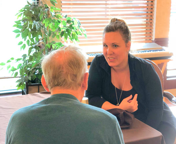 Gina Boerger and Shannon Condon (pictured) joined Therapy Advantage, a home health therapy company, as part of a new home health therapy program for people with Parkinson's Disease.