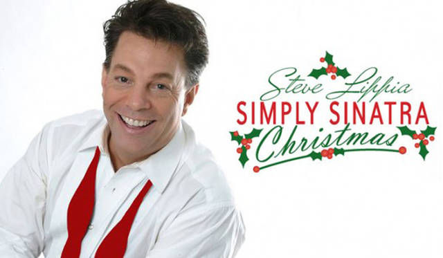 """Gateway Arts Council will present Steve Lippia in """"Simply Sinatra Christmas"""" at 2 p.m. and 7 p.m. Dec. 2 at the Sidney High School Auditorium."""