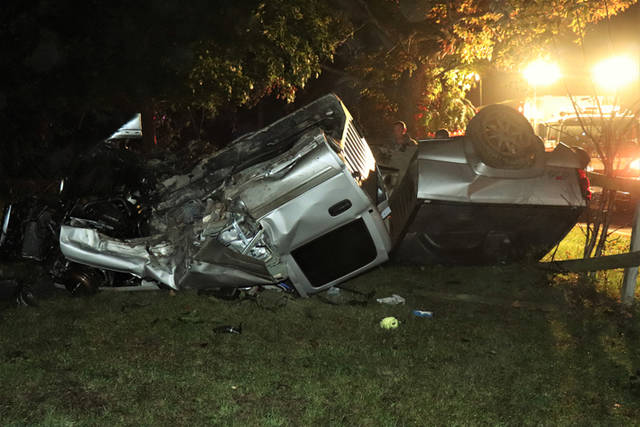A driver was arrested for the suspicion of driving while intoxicated following a rollover crash Sunday night.