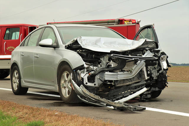 Deputies reported a driver admitted to the possibility of falling asleep while driving home from work following a crash on Wednesday afternoon.