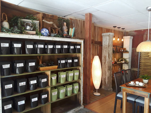 Jesse Berry and Kim Berry opened Blue Lantern Tea House at 106 N. Broadway in Greenville.