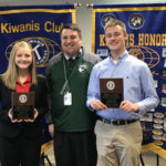 Alyssa York, Max Erwin named Greenville Kiwanis Club students of the month