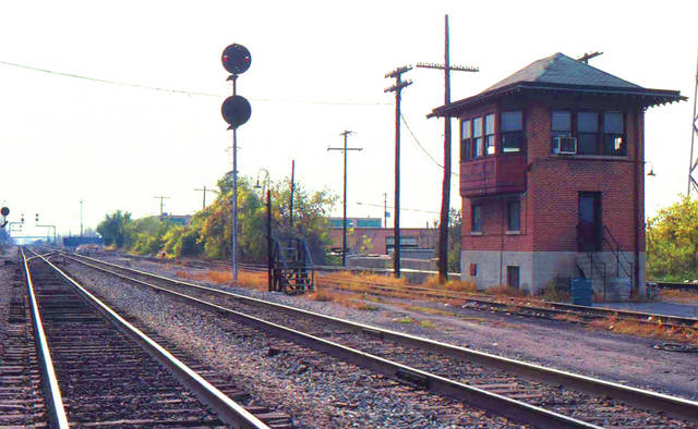 An effort is underway to preserve the historic Pennsylvania Railroad signal tower located at 501 E. Main St. in Bradford.