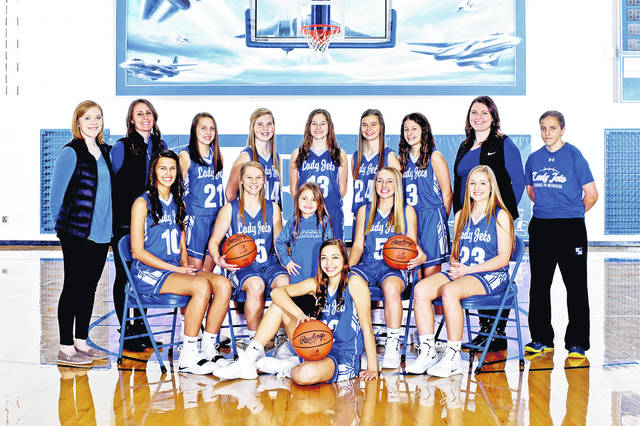 The 2018-19 Franklin-Monroe girls basketball team.