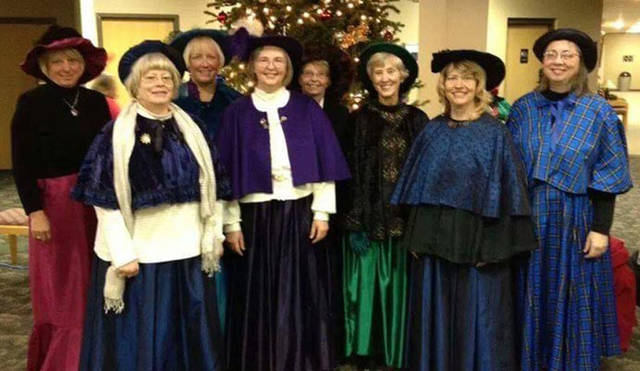 Melody Line choral group will perform at the Greenville Business & Professional Women's Club's meeting on Dec. 13.