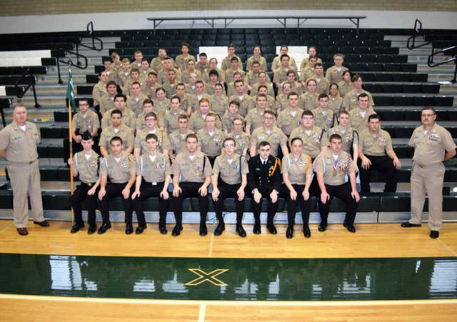 The Greenville Senior High School has a Naval Junior Reserve Officer Training Corps program has 103 students enrolled.