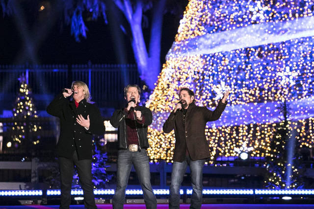 "Darke County Center for the Arts will present The Texas Tenors in ""Deep in the Heart of Christmas"" at 7 p.m. Dec. 9 at Greenville's St. Clair Memorial Hall."