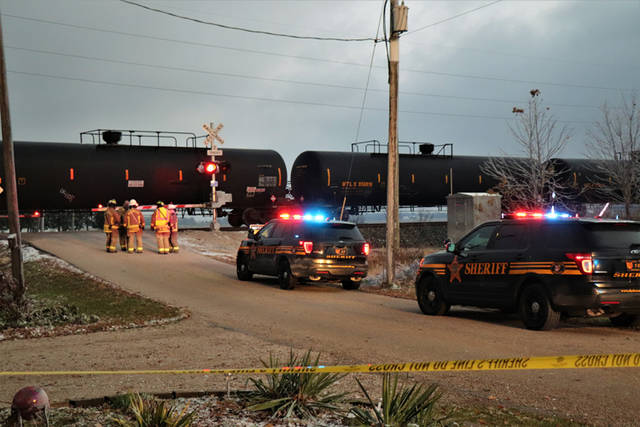 An unknown female pedestrian died after being struck by a train in the early morning hours of Friday in Versailles.
