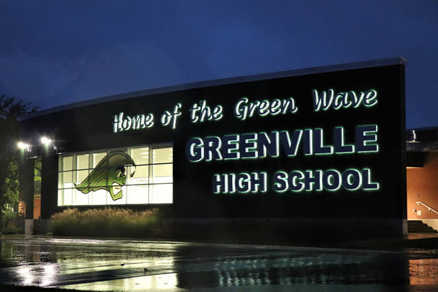 A Nissan Rogue attempting to make a left hand turn onto Greenwave Way struck a Greenville High School student in the cross walk Thursday morning, according to officers on the scene.
