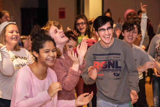 "Students from 50 local schools have been rehearsing for the production of ""Mamma Mia!"" that will be performed Jan. 10 through Jan. 13, 2019 at the Victoria Theatre."