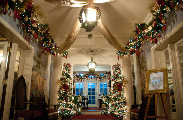 Sunday is the grand opening of Hayner's Holiday décor. More than 20 decorators have adorned the entire three-story mansion with nine versions of the 2018 theme: Christmas Collections.