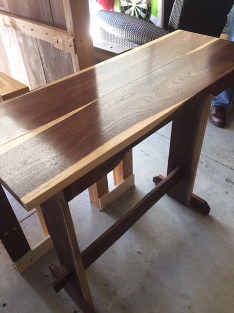 The furniture of former Darke County Judge Gene Hoellrich will be featured at Gateway Arts Council's Loose Threads and Sanded Edges Exhibit.