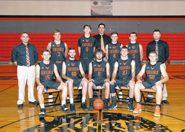 The 2018-19 Ansonia boys basketball team.