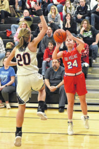 Lady Patriots score early, often in win over Mississinawa Valley