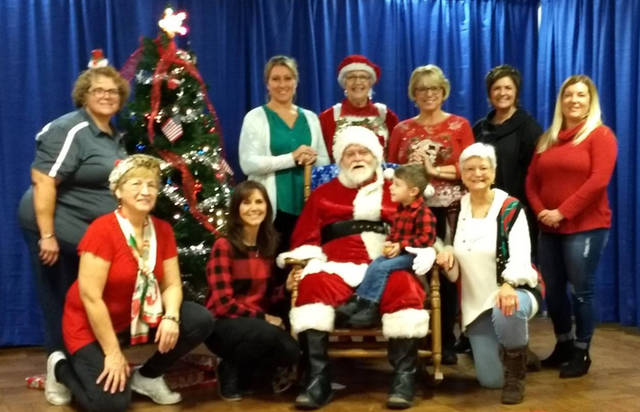 The Greenville Business & Professional Women's Club held its annual Breakfast with Santa on Dec. 1 at the Greenville VFW to raise money to grant college scholarships to the young women of Darke County.