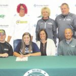 Greenville's Brooke Stachler signs to play volleyball at Edison State Community College