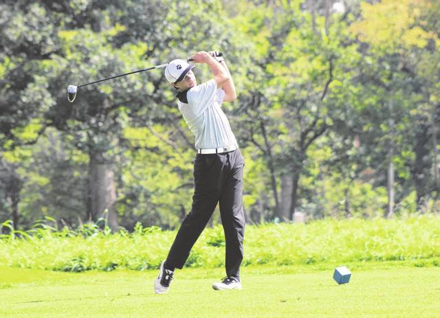 Connor VanSkyock was a Division II district qualifier his junior season and is The Daily Advocate's Darke County Male Golfer of the Year.