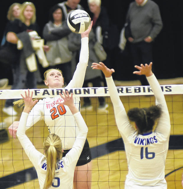 Senior Elizabeth Ording helped lead Versailles to a second consecutive Division III state volleyball championship back in November making her an obvious choice for the 2018 Darke County Volleyball Player of the Year.