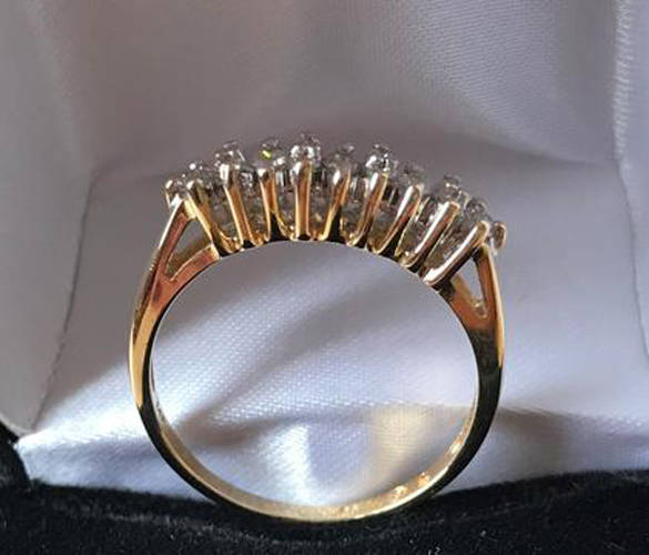 The Maria Stein Shrine of the Holy Relics is hosting a diamond ring raffle for a ring valued at $750.