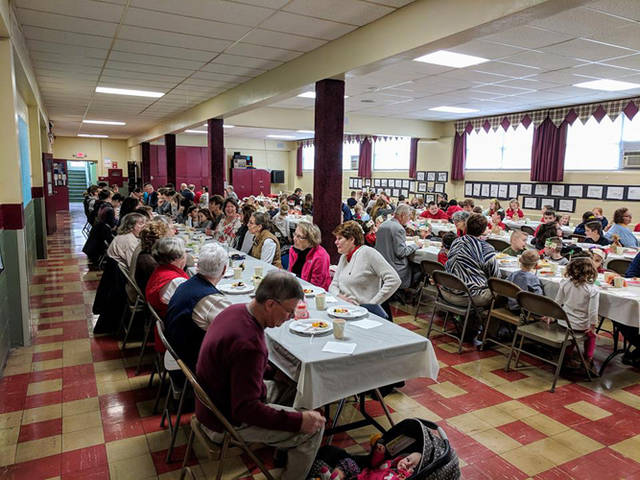 St. Mary School hosted a Thanksgiving feast on Nov. 21.
