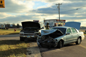 Seat belts credited in preventing injuries in head-on collision in Versailles