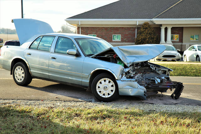 All who were involved in an accident Monday in Versailles were reported to have been wearing their seat belts, which emergency personnel credit in preventing any major injuries.